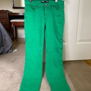 Urban Outfitters Green Skinny Jeans